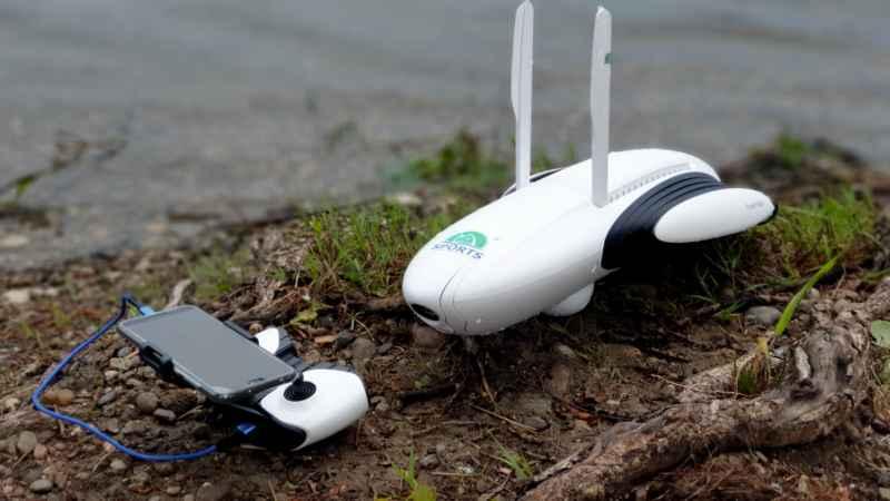Novinka: rybářský plovoucí dron PowerDolphin