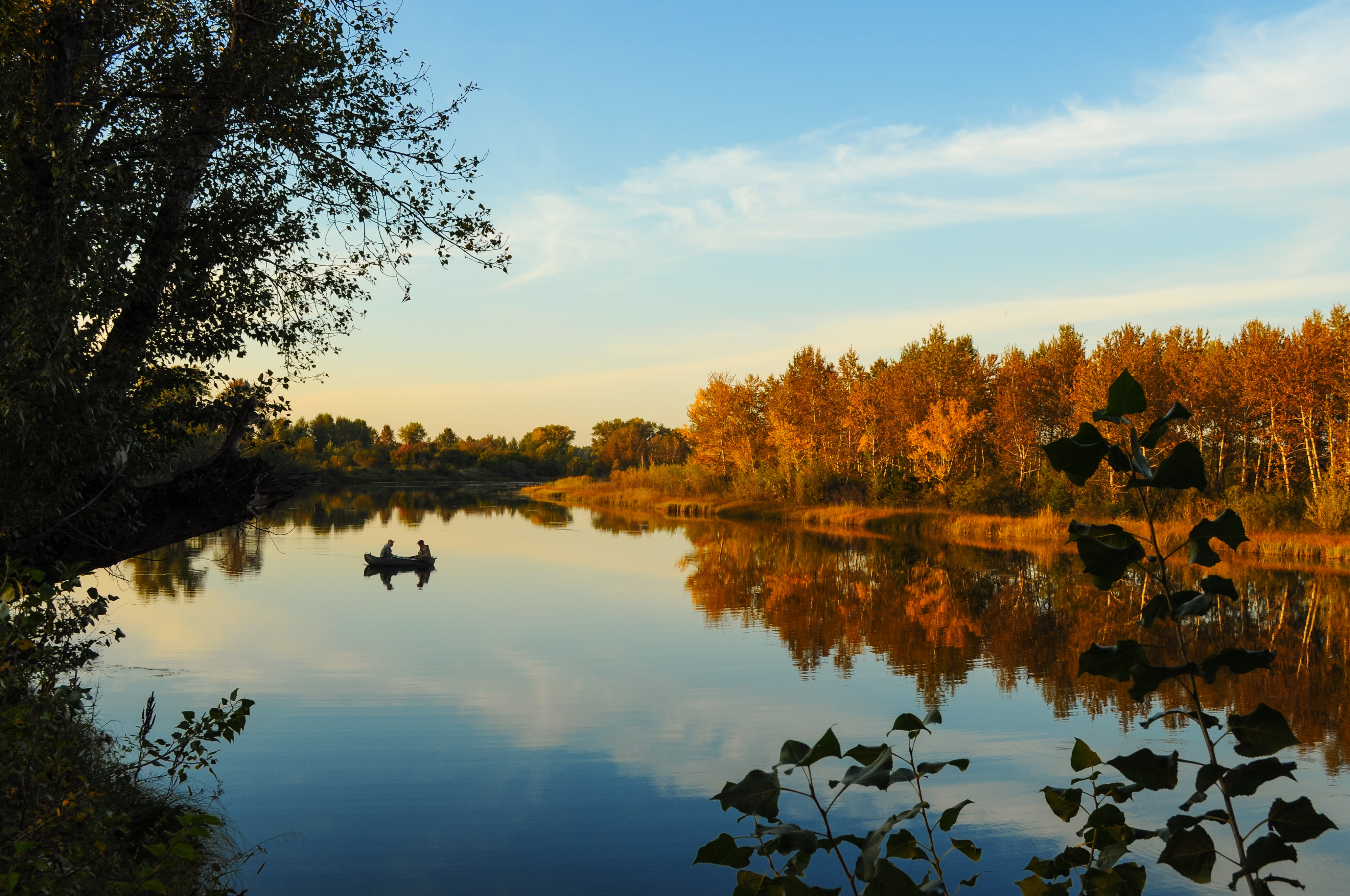 Podzimní rybaření