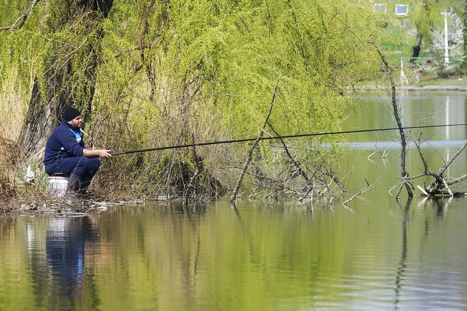Jarní rybaření