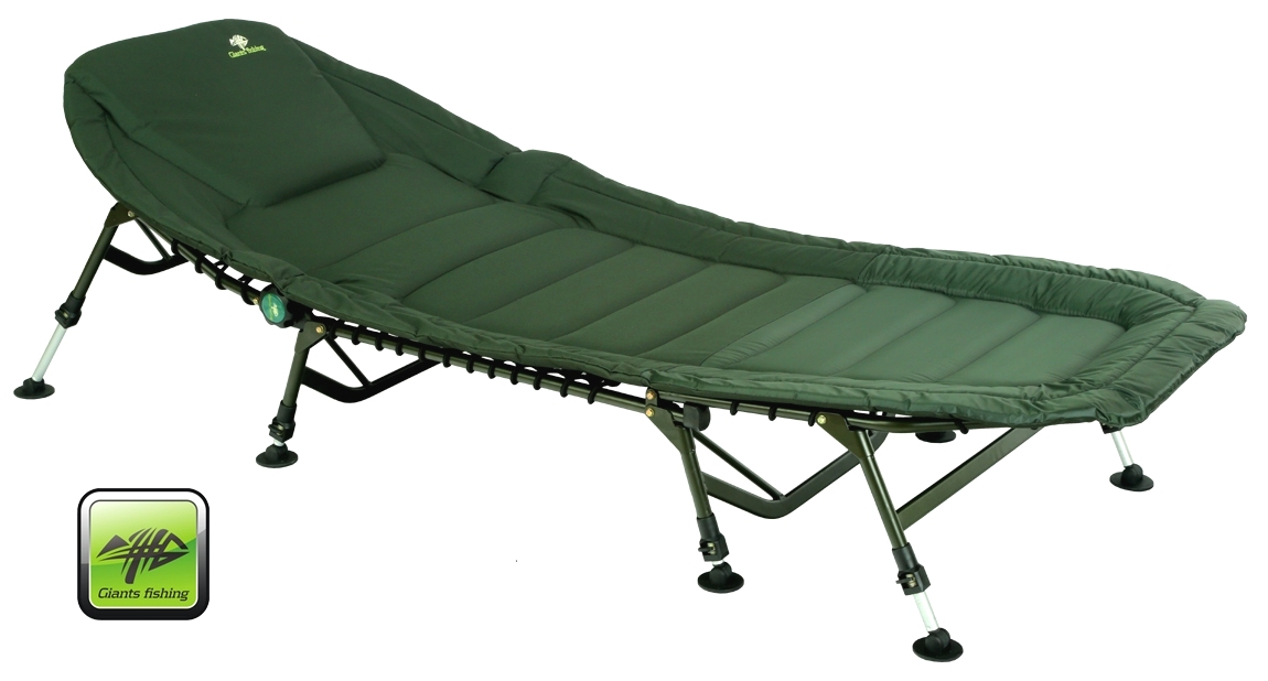 Lehátko Giants Fishing Specialist Plus 8Leg Bedchair - Giants Fishing