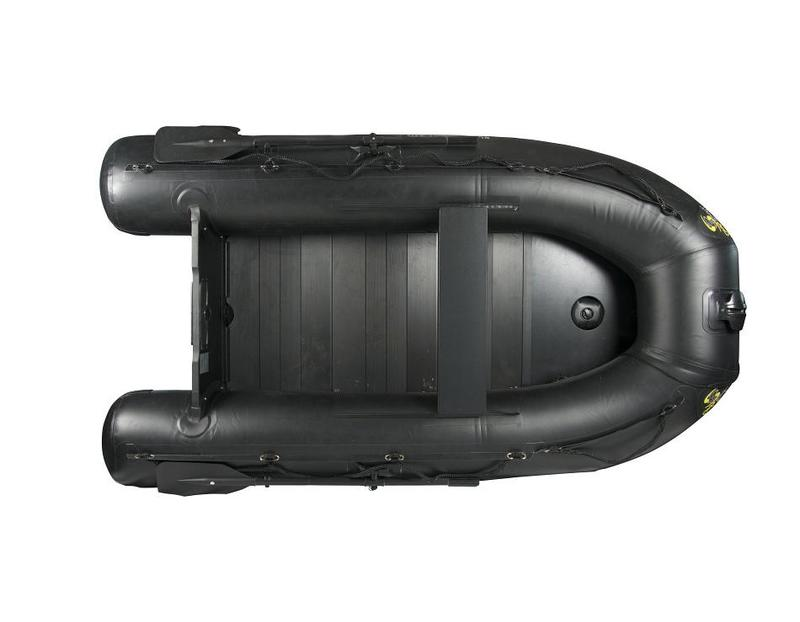 Carp Spirit Rubber Boat Black 230