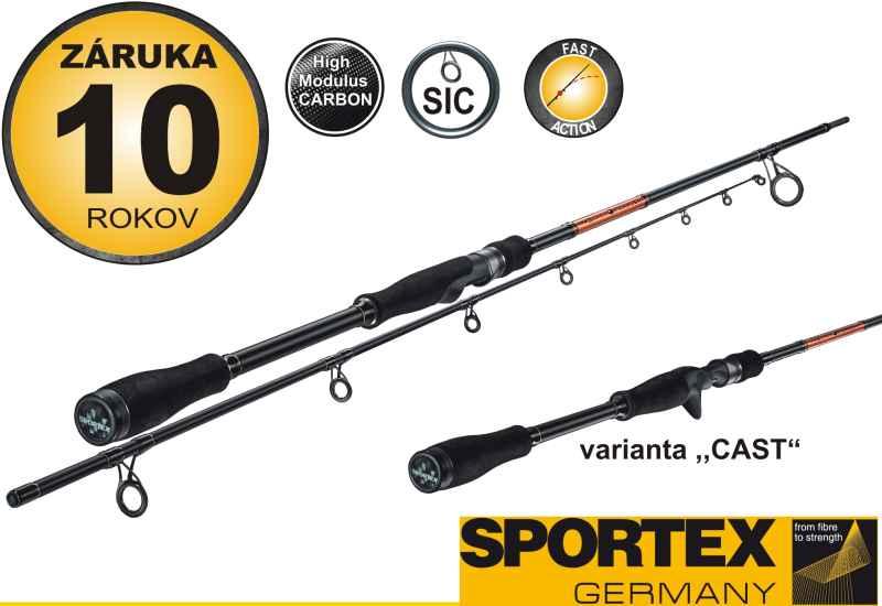 SPORTEX - Black Pearl - BR 2711-270cm, 20g