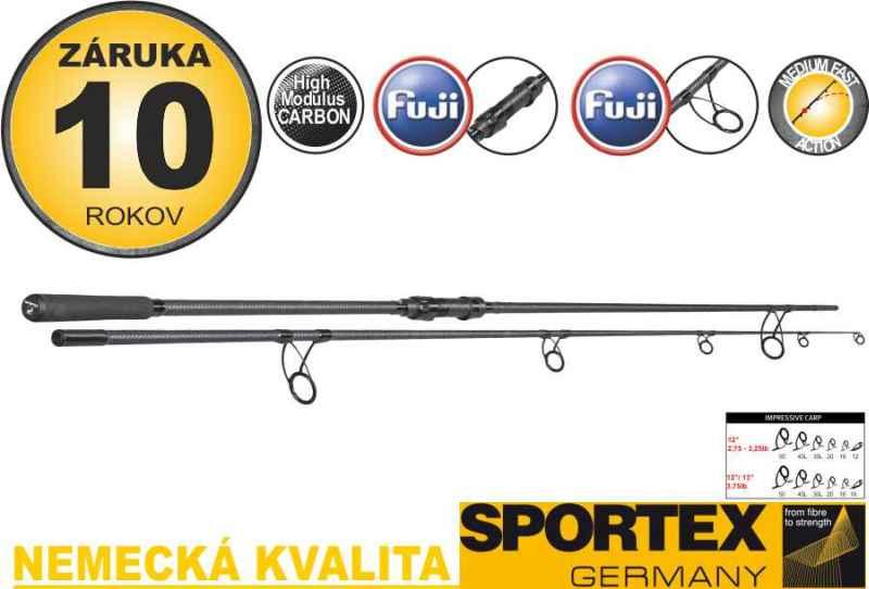 SPORTEX Impressive Carp 2-díl 396cm / 3,75lbs