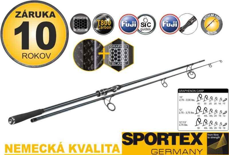 Sportex Graphenon Carp 2-díl 396cm / 3,75lbs
