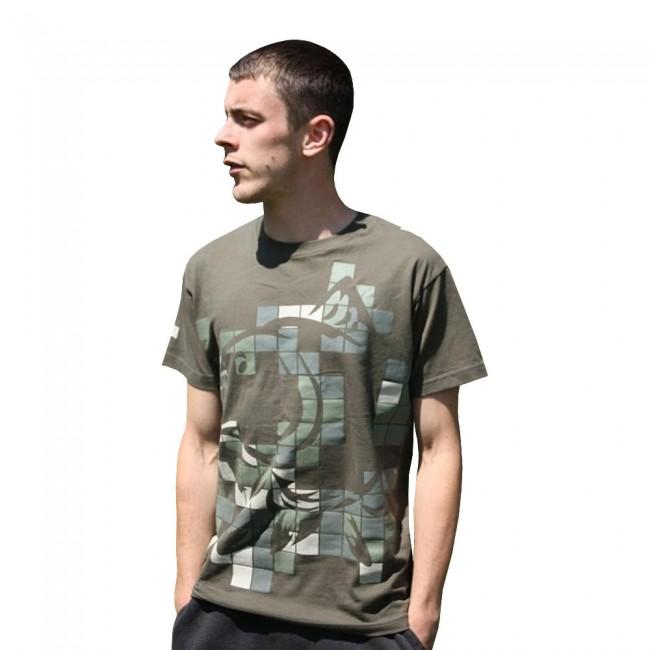427a8019f62e Tričko NASH T-Shirt Green XL