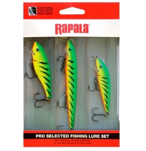 Set wobblerů RAPALA Scatter Rap Kit 3 FT (3 ks wobblerů)