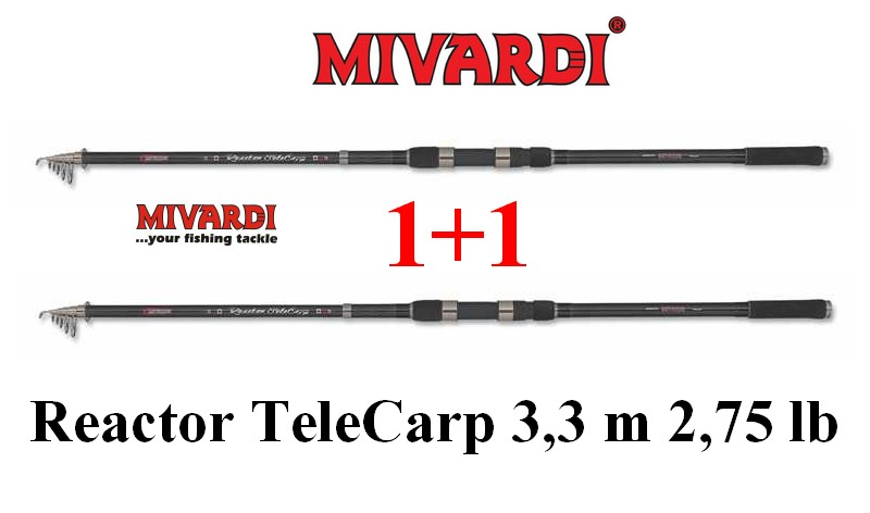 Mivardi Reactor TeleCarp 3,3 m 2,75 lb 1+1 AKCE