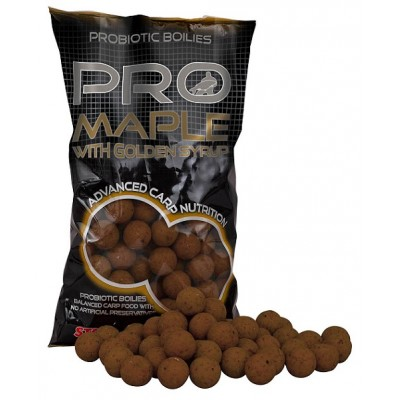 Boilies STARBAITS Probiotic Maple 1kg  - 20mm
