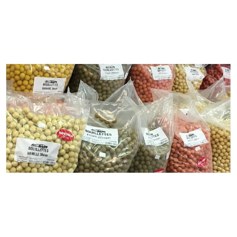 STARBAITS Global boilies 20mm 10kg - Krmné boilies