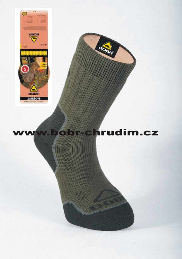 7b785ccfe1d Zátěžové ponožky Bobr se stříbrem