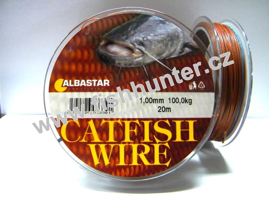 silony pletenky ry n vazcov ra catfish wire 1 00mm 100kg 20m ryb sk pot eby fish. Black Bedroom Furniture Sets. Home Design Ideas