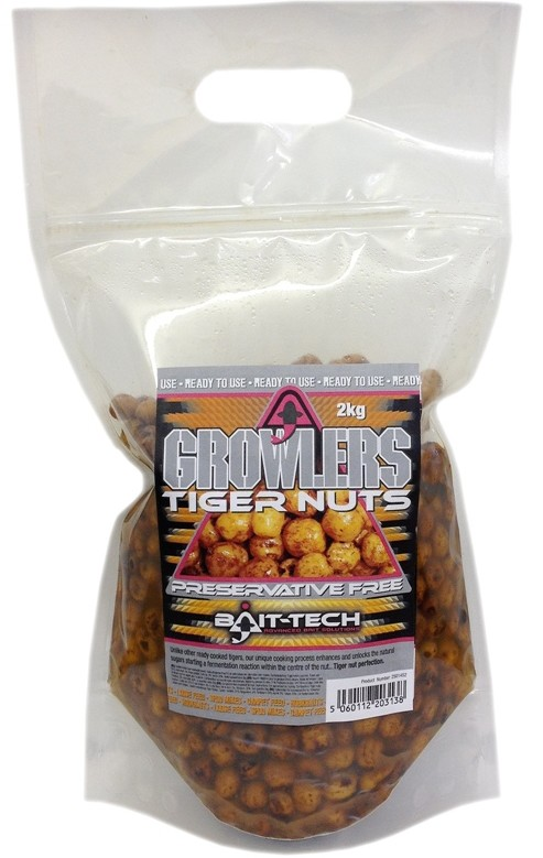 Bait-Tech Tygří ořech Growlers Tiger Nuts Pouch 2kg