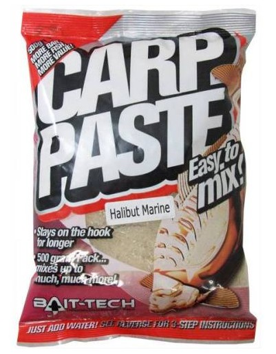 Bait-Tech Kaprové těsto Carp Paste Natural Fishmeal 500g
