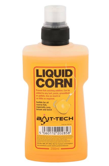 Bait-Tech Tekutá esence Liquid Corn 250ml