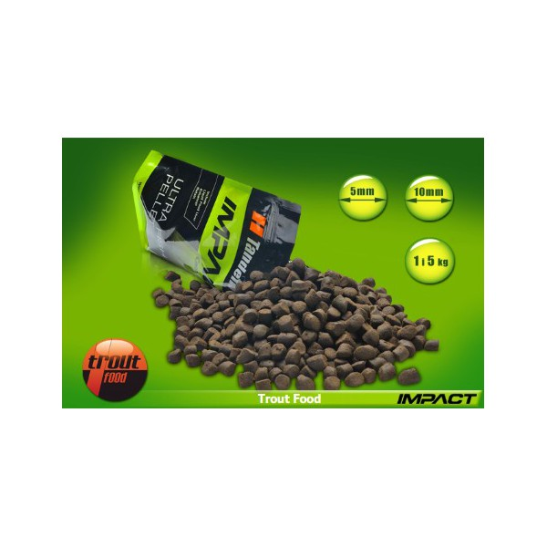 Ultra Fish Pellet-Trout Food 5mm / 1kg