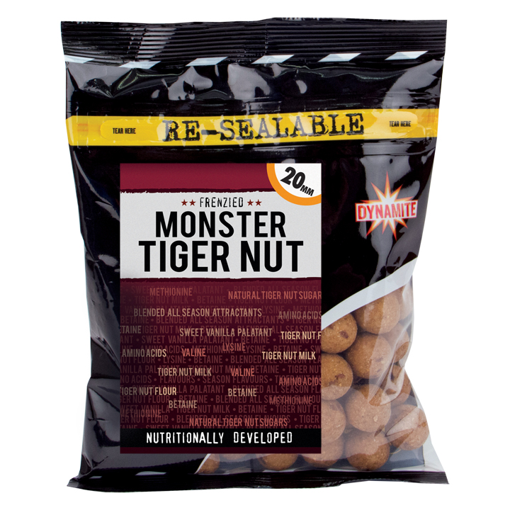 Dynamite Baits Boilies Tiger nut 350g 20mm
