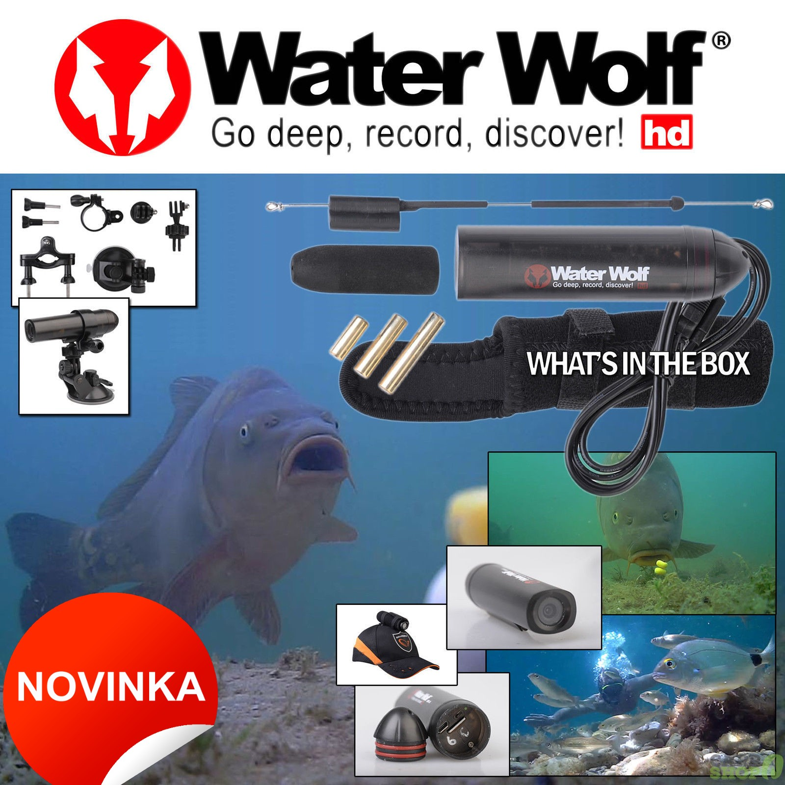 Podvodní kamera Water Wolf UV Camera 1.0