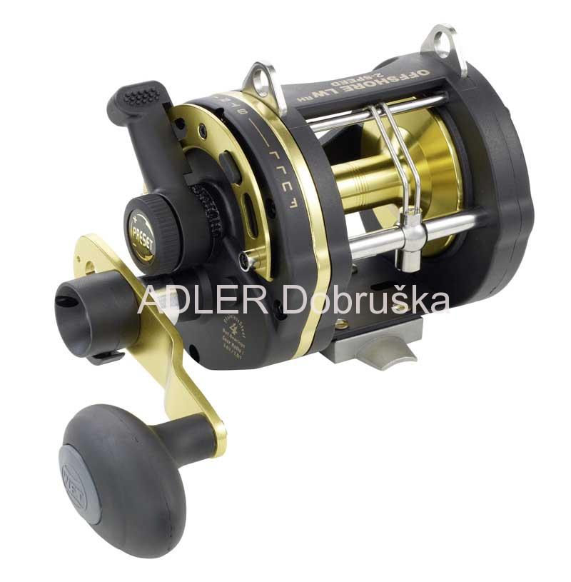 WFT Multiplikátor WFT OFFSHORE 2 SPEED 30LW LD