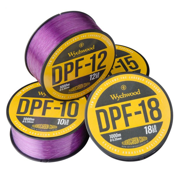 Vlasec Deep Purple Fluoro Coated Mono 18lb/0,35mm/1000m