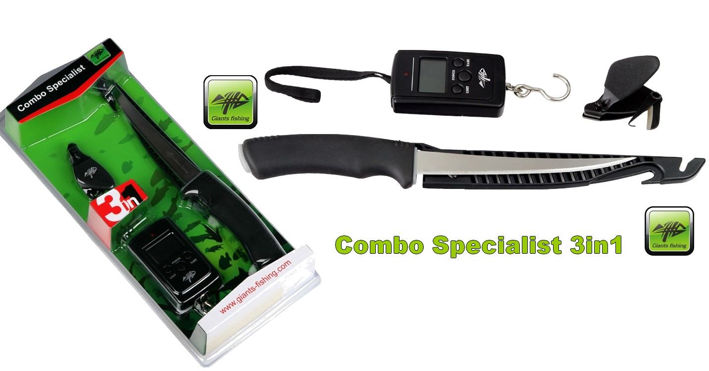 Giants Fishing Combo Specialist 3in1