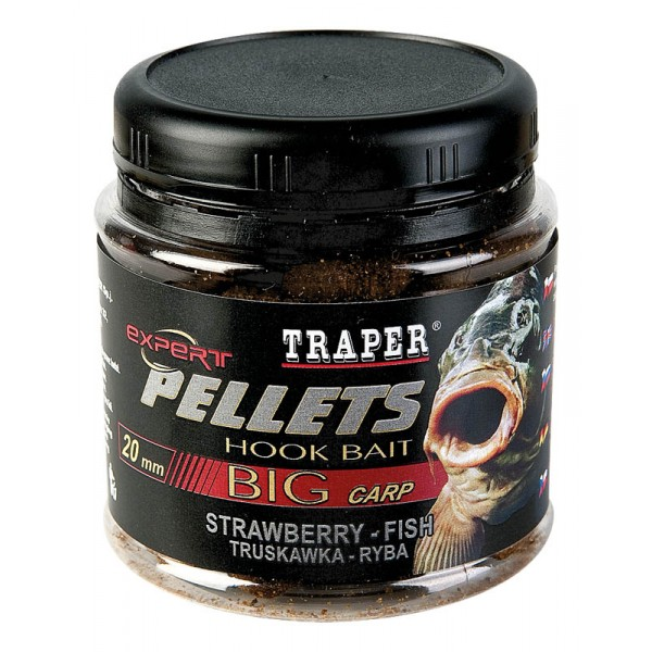 Traper Pellets Hook Bait Big Carp - Pelety 12mm/100gr