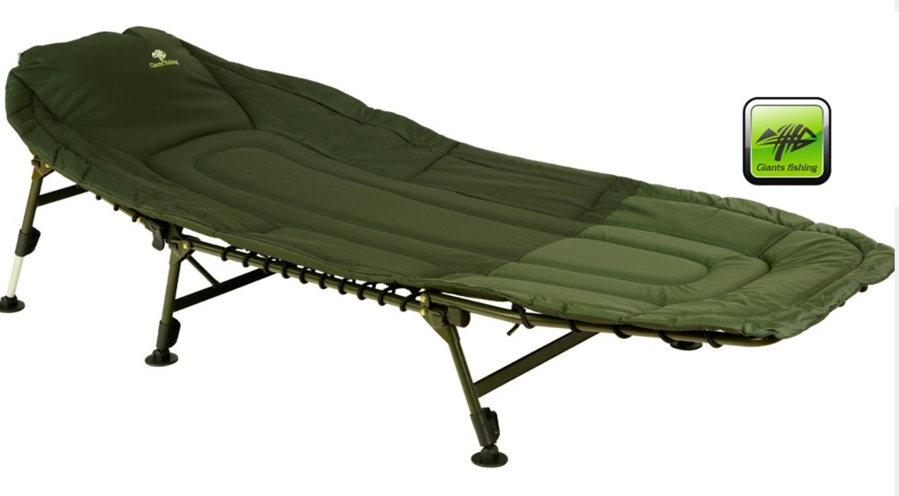Lehátko Giants Fishing Specialist Bedchair 6Leg - Giants Fishing