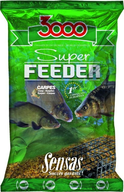 Sensas 3000 SUPER FEEDER KAPR 1kg