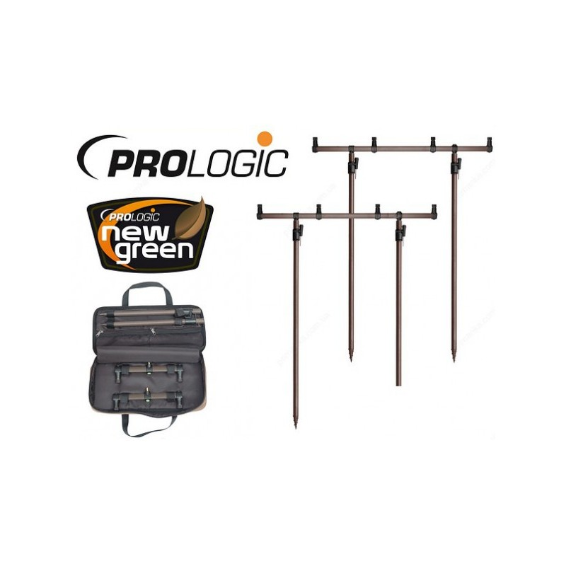 Prologic New Green Goal Post Kit 4 Rods