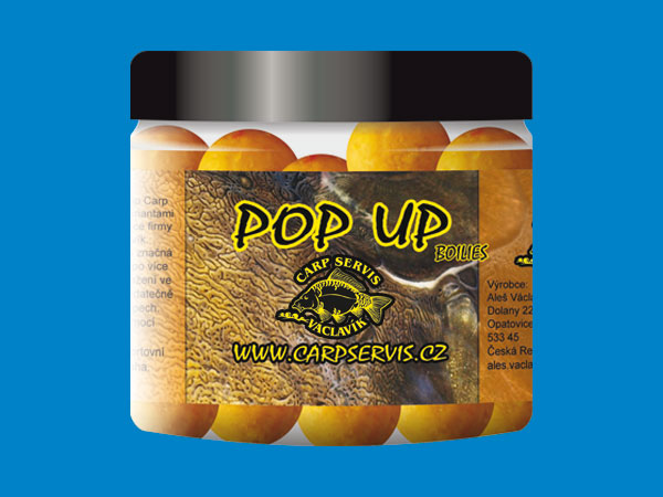 Pop Up Boilies 70 g - Carp Servis Václavík