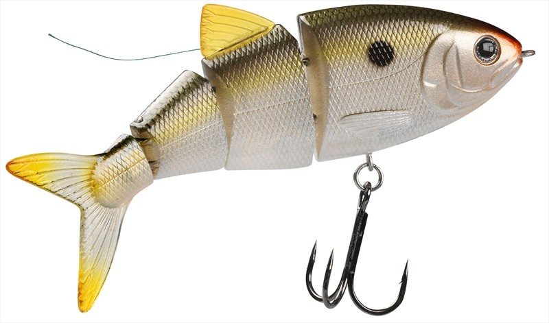 Wobler SPRO BBZ1 Swimbait Shad - Natural Shad
