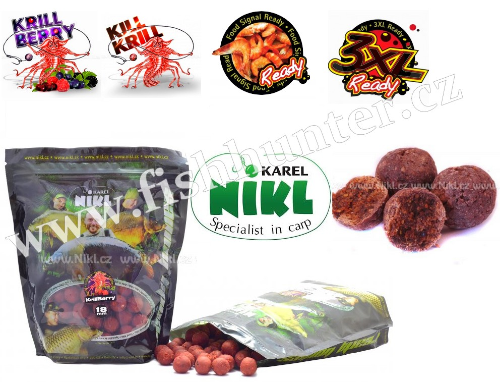 Karel Nikl Ready boilie 250g 18mm