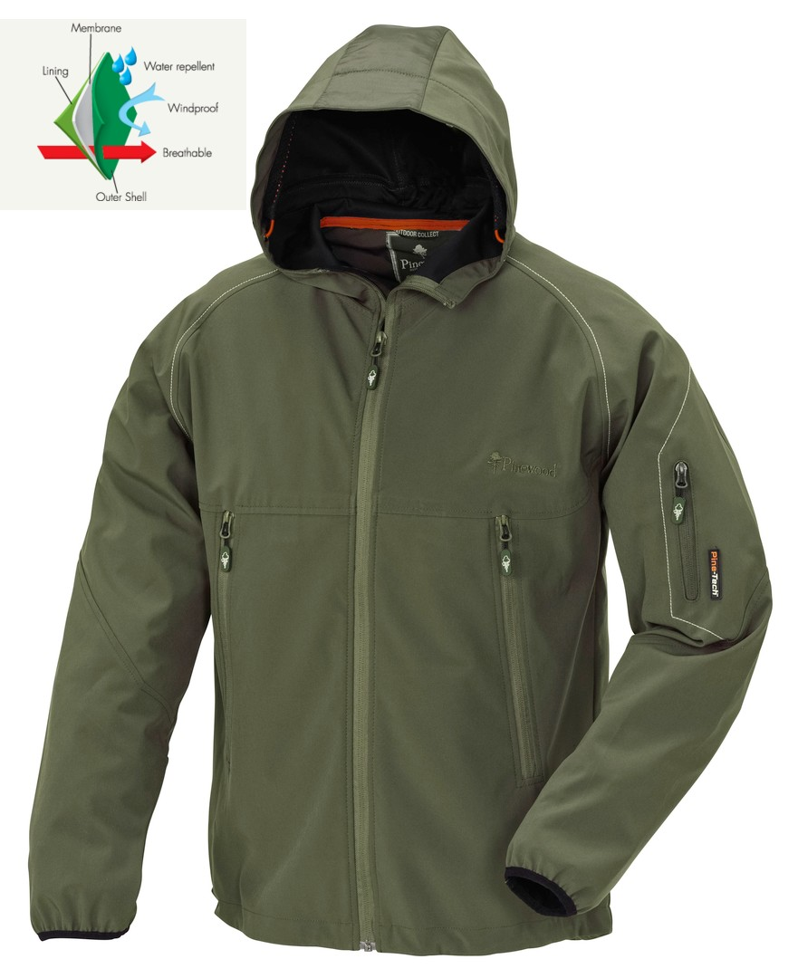 Pinewood bunda Jacket Lofoten Green