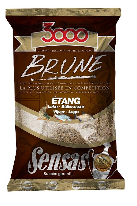 Sensas 3000 Brune 3000 Brune Big Roach v.plotice 1kg