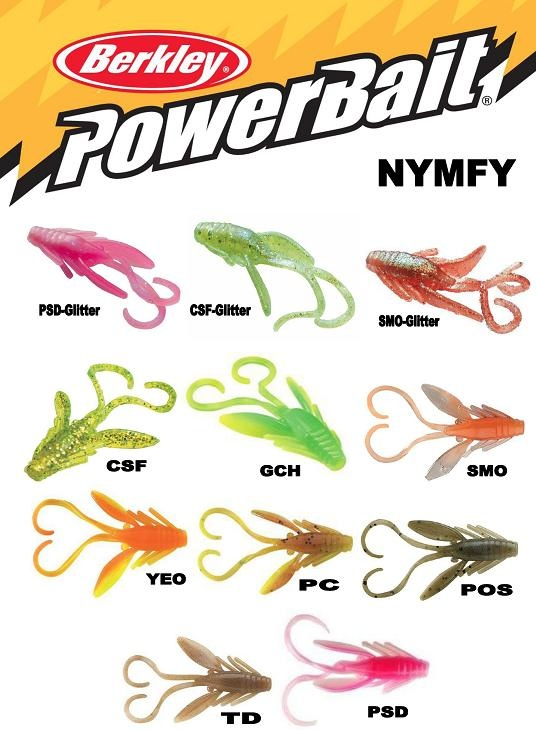 BERKLEY Nymfy Powerbait sáček