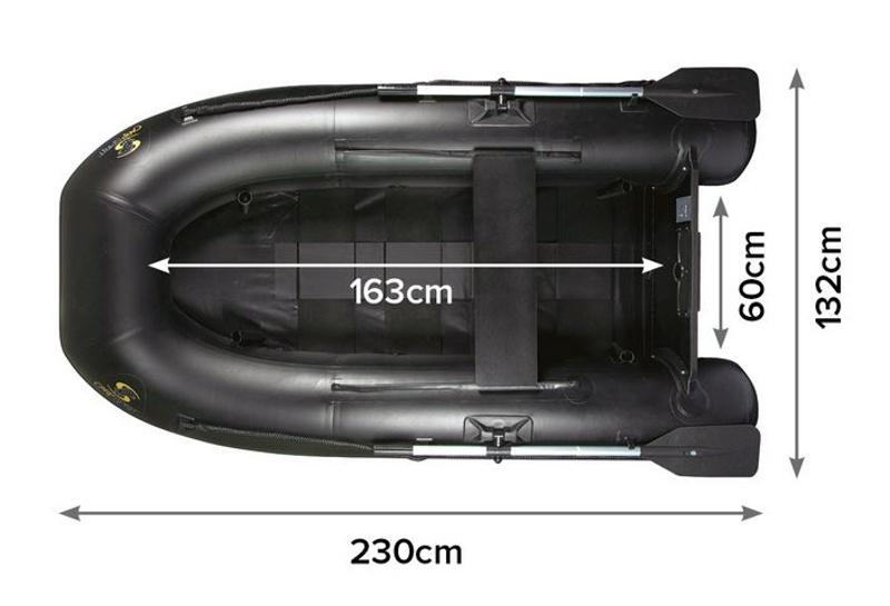 Carp Spirit Black Boat ONE 230