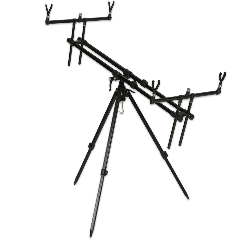 Stojan Tripod Army 3 Rods Black
