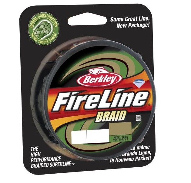 BERKLEY Šňůra Fireline Moss Green 0.28mm / 110m