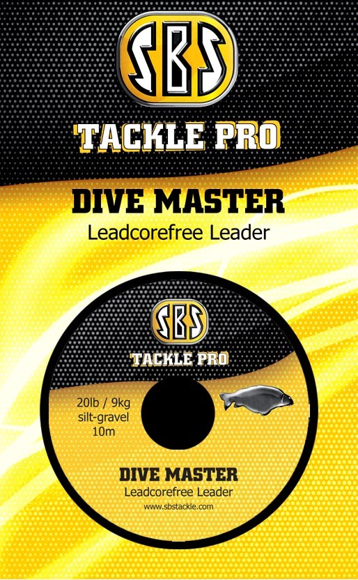 SBS Dive Master 20lb/10m Leadcorefree Leader