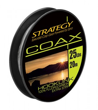 Strategy Coax fluorocarbon 15 Lbs - 20m
