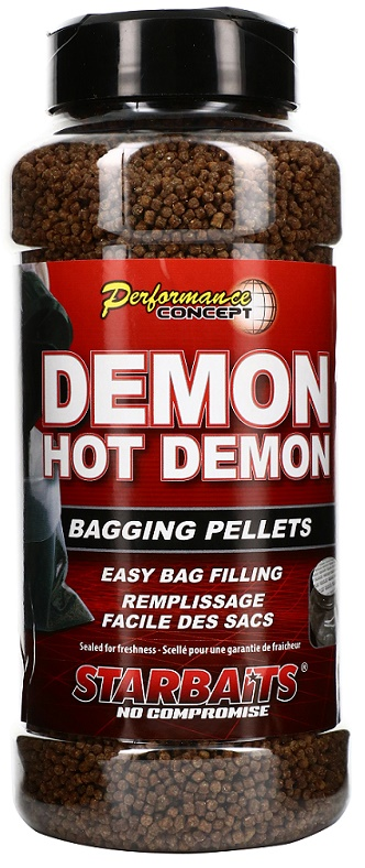 Starbaits Pelety Concept Bagging 700g Hot Demon