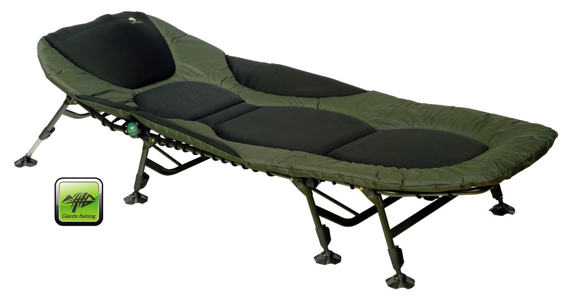 Lehátko FLX Plus 8Leg Bedchair Giants Fishing