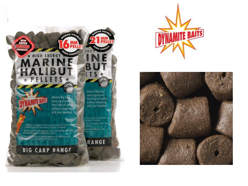 Dynamite Baits Marine Halibut Pellets 21mm 900g