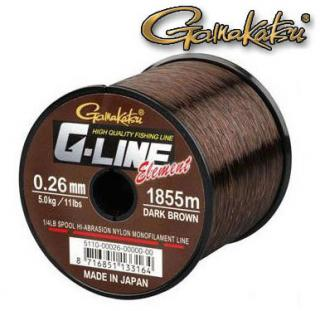 Gamakatsu G-Line Element 1325m/0.30mm