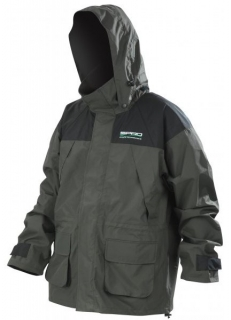 Bunda SPRO do deště green Rain Jacket XXXL