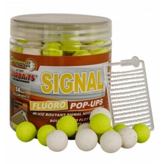 Plovoucí boilies Fluo STARBAITS Signal 60g - 10mm