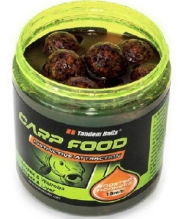 Boilies TANDEM BAITS  Impact Boosted Hookers 18mm/250ml - KRYL OLIHEŇ