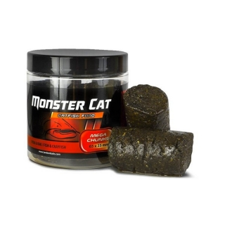 Pelety na sumce Monster Cat Mega Chunks Ryba a Rak 65 x 35mm