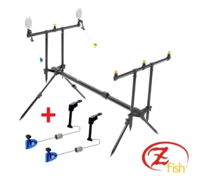 Zfish Rod Pod Classic 3 Rods + 2x Swinger Zfish ZDARMA!--