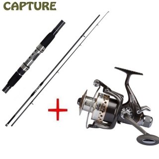 JAF Capture Kaprový prut Capture Carp Prestige 12ft + naviják Capture Prestige 600XBF ZDARMA