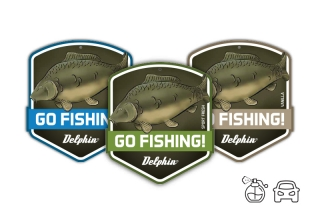Vůně do auta GO FISHING! Carp-Sport fresh